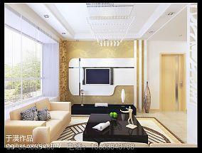 热门140平方四居客厅混搭装修图片