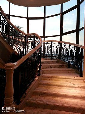 别墅旋转楼梯图集