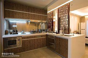 面积103平混搭三居厨房欣赏图片