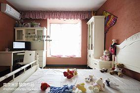面积118平复式卧室欧式实景图