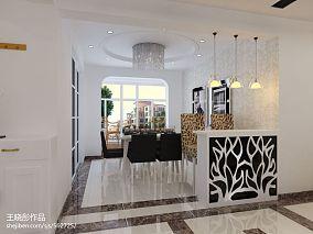 热门128平米四居餐厅混搭装饰图片