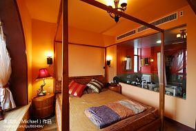 精美面积138平复式卧室东南亚装饰图
