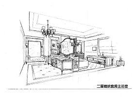 简单80平米2室2厅效果图