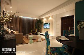 精美108平方三居卧室混搭装修实景图