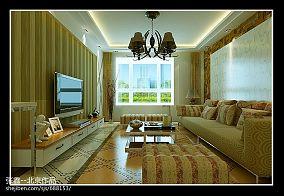 英式设计风格别墅客厅