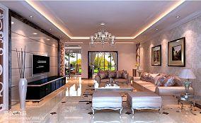 新古典风格设计三居室效果图大全