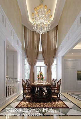 129平米中式别墅装饰图片欣赏