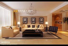 低调三室二厅房屋图片