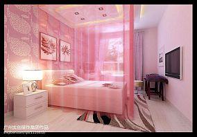 现代简约时尚三居室效果图