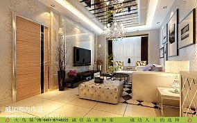清爽40平米单身公寓经典图片