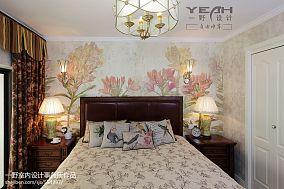 面积117平复式客厅混搭装饰图