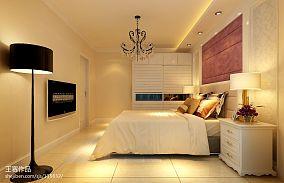 朴质70平米一室一厅效果图