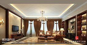中式现代家装空间效果图