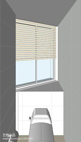 高雅105平米三居室图片