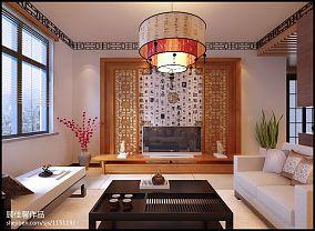 清新美式家居客厅书柜款式