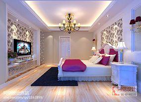 精选100平米三居卧室欧式装修效果图片