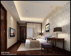 精选面积135平别墅卧室中式效果图片