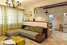 温馨客厅沙发背景照片墙装修效果图