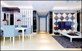 现代一居餐厅效果图片