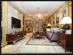 简欧风格别墅客厅设计装修图片