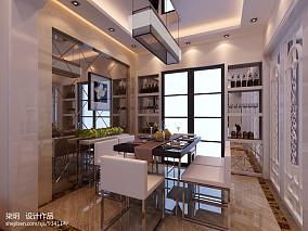 质朴350平别墅客厅案例图