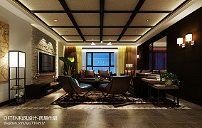 2018东南亚客厅装修欣赏图