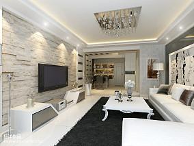 热门97平米三居客厅现代欣赏图片