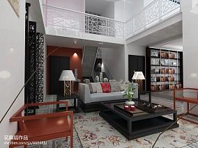 欧式别墅客厅装修效果图样板间