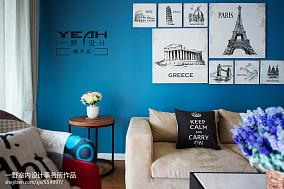 精选76平米二居客厅现代效果图