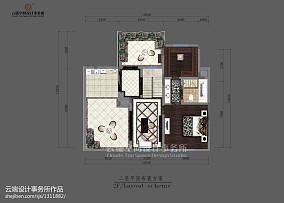2018精选欧式复式客厅装修效果图