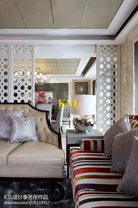 精美中式客厅装修欣赏图片
