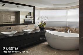 卫生间浴室一体设计效果图片大全