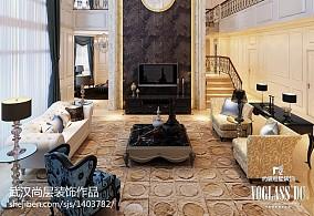 2018精选113平方新古典别墅客厅欣赏图片