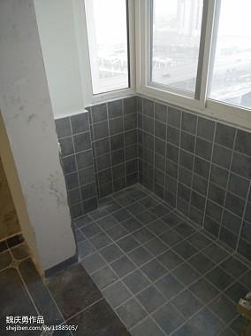 极简主义浴室洗脸盆