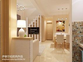 雅致两室一厅精装房装修图