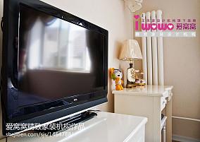 精美86平米欧式小户型客厅装修欣赏图片