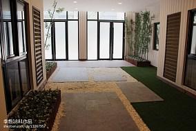 热门花园现代装修实景图