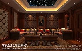 水蓝色现代布艺沙发图片