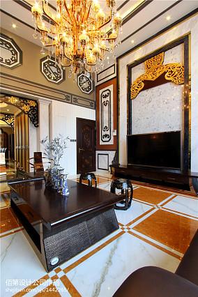 现代家装室内博古架装修图