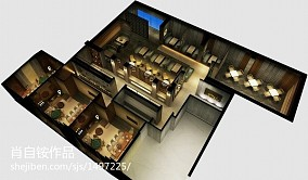 欧式风格三居室书房装修设计图片