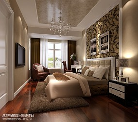 简欧风格三居室书房装饰设计图片