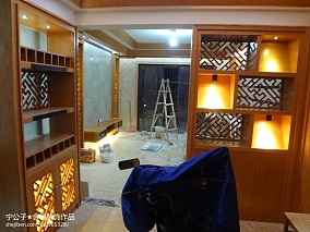 精美86平米现代小户型客厅效果图片