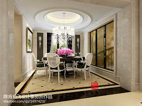 热门餐厅欧式装修设计效果图片欣赏