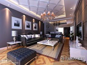 精选80平米现代小户型客厅实景图片
