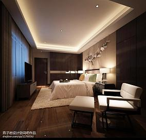 卧室3D墙纸设计