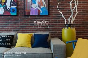 精选大小73平混搭二居客厅装修设计效果图片大全