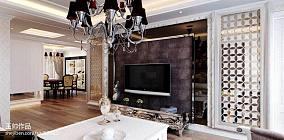 热门70平米二居客厅欧式装修实景图片