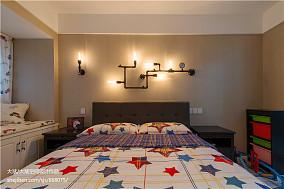 热门79平米现代小户型儿童房实景图