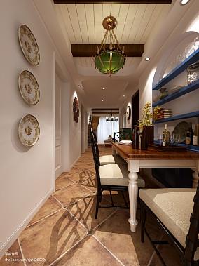 热门面积88平地中海二居餐厅效果图片欣赏