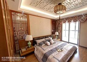 热门四居卧室中式效果图片
